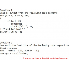 How would the last line of the following code segment need to be modified